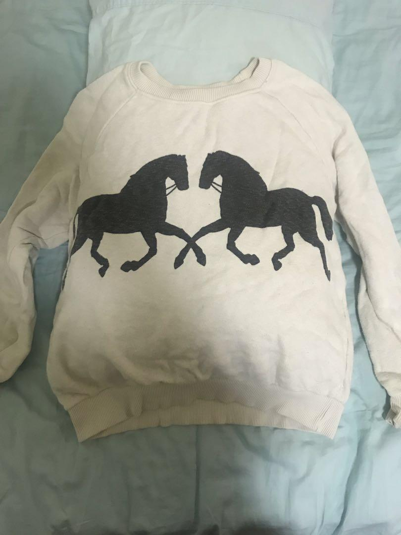 Horse silhouette Sweater