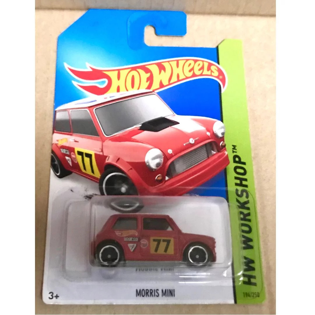 Hot Wheels Morris Mini Red Toys Games Bricks Figurines On