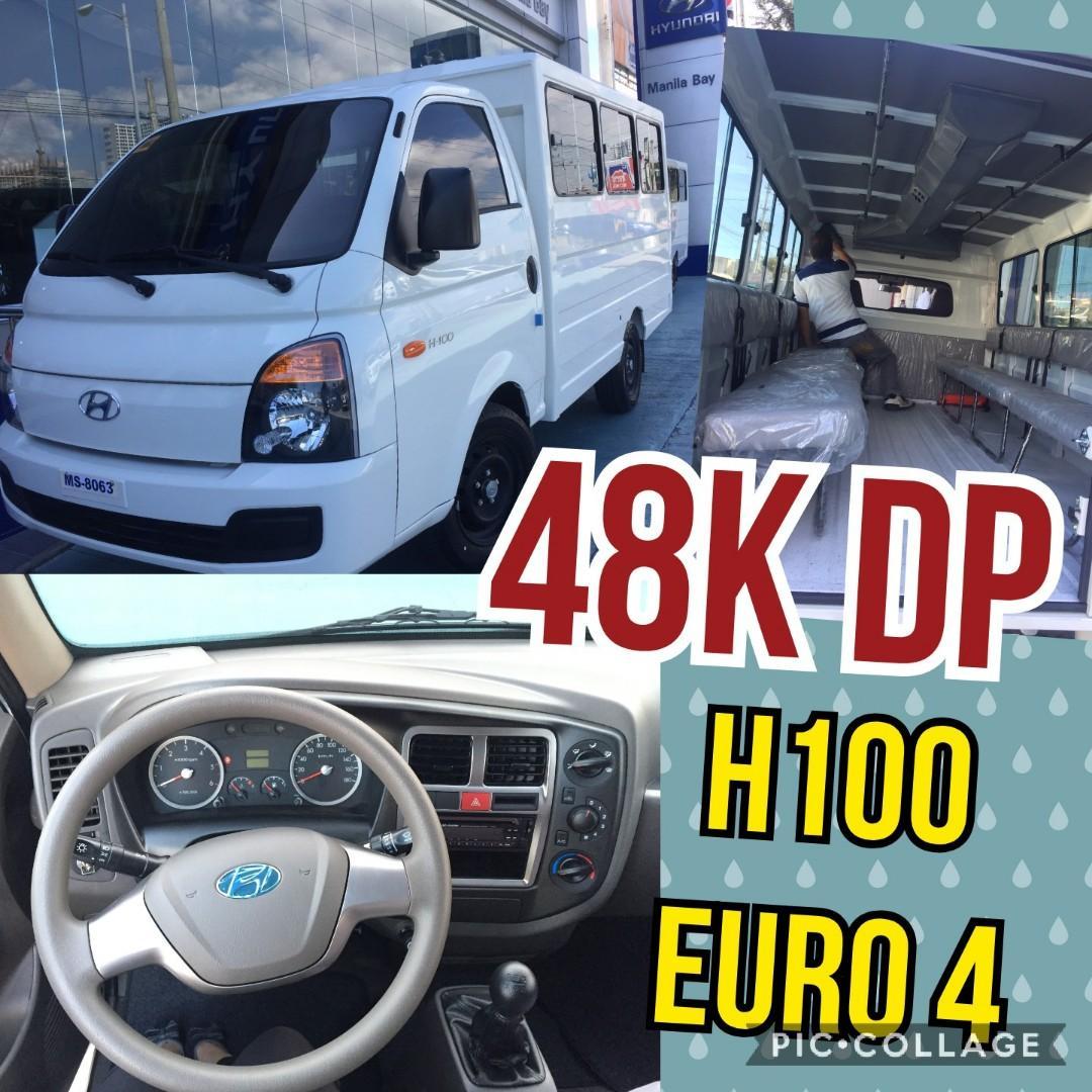 Hyundai H100 Dual AC 21 seaters ONHAND UNITS VS. L300 exceed delux ipv Ertiga Super Carry Foton