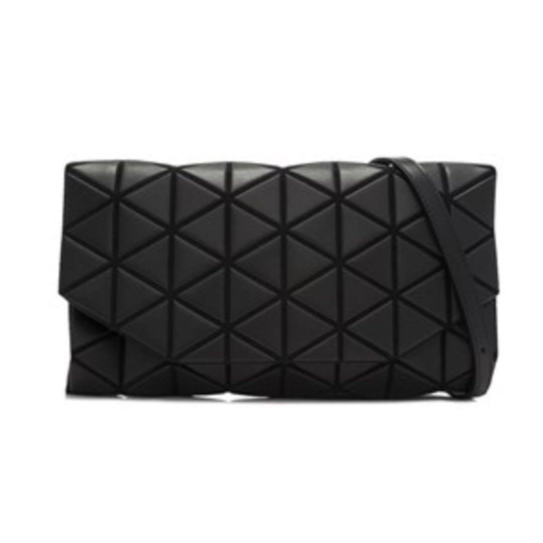76816c057a Issey Miyake Bao Bao Tonneau Matte Shoulder Bag (Black Leather ...