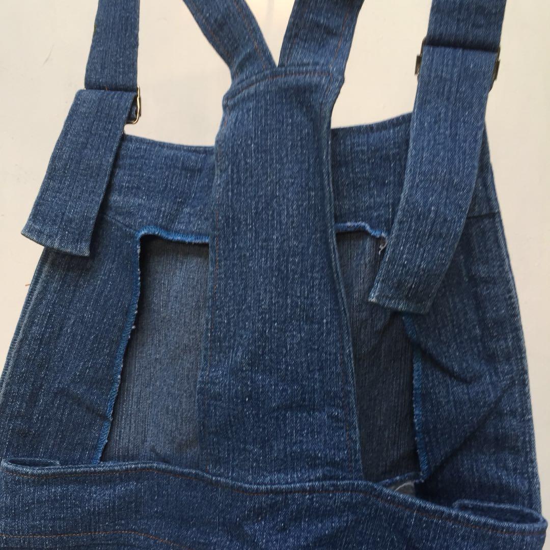 Jumpsuit Jeans / Celana Kodok
