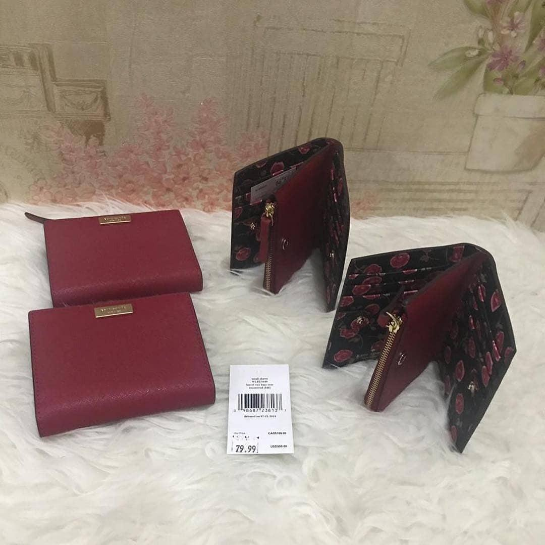 Kate Spade Shawn Laurel Way Rooster Red