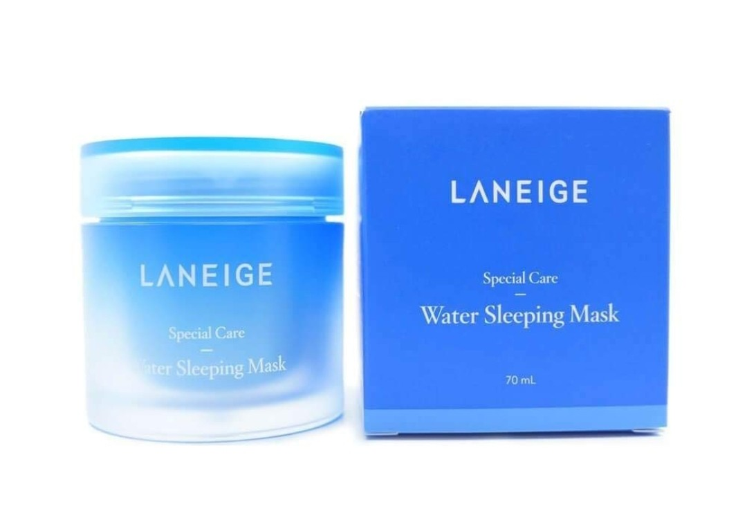 Skin Care New W/sealed Box~laneige Sleeping Care Good Night Kit~travel Water Face&lip Mask Easy To Use Night Treatments