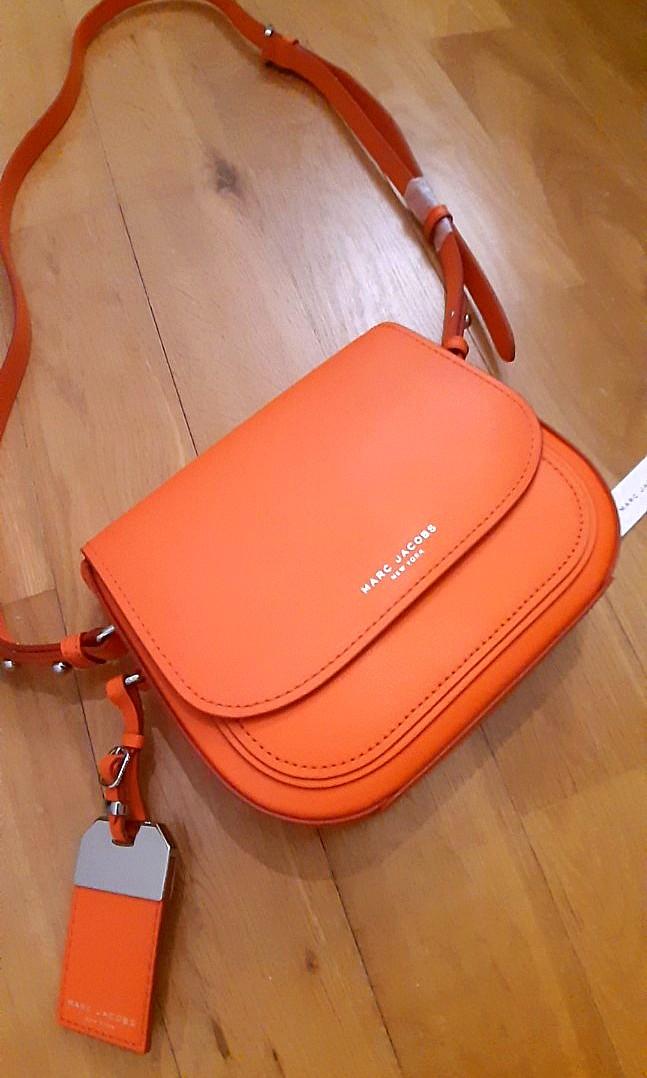 4ab287f0b15 Marc Jacobs Orange Sling Bag, Luxury, Bags & Wallets, Handbags on ...