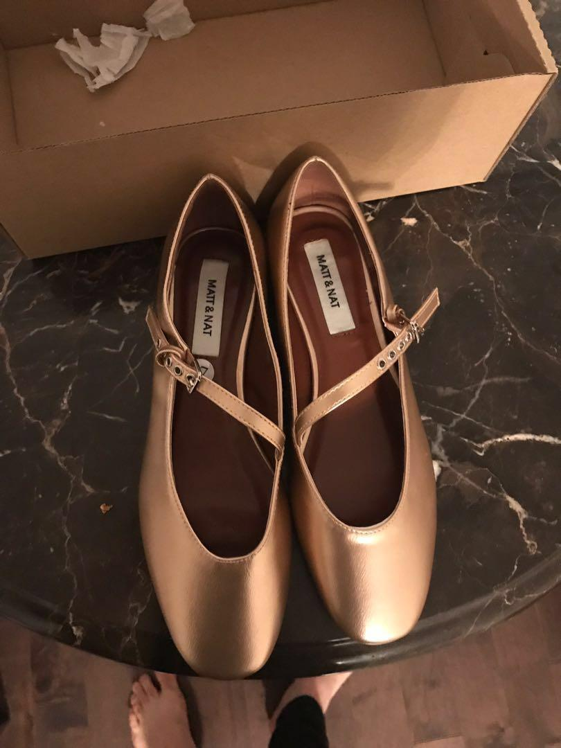 Matt and Nat size 7 metallic Mary Janes * price reduced*