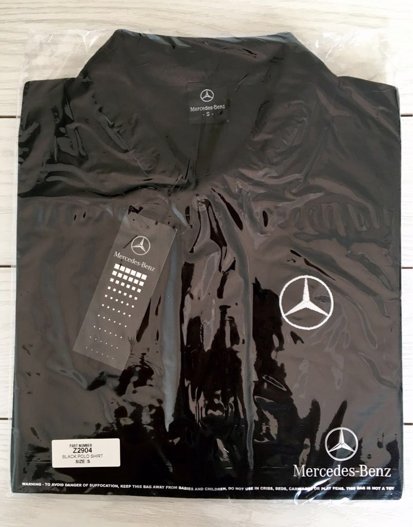 b9759c9a3db9 Mercedes-Benz Polo Shirt (Authentic Merchandise), Men's Fashion ...