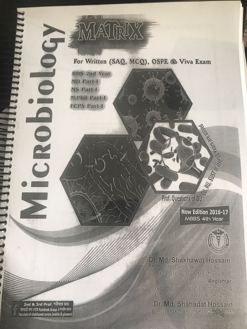 Microbiology Notes Mbbs