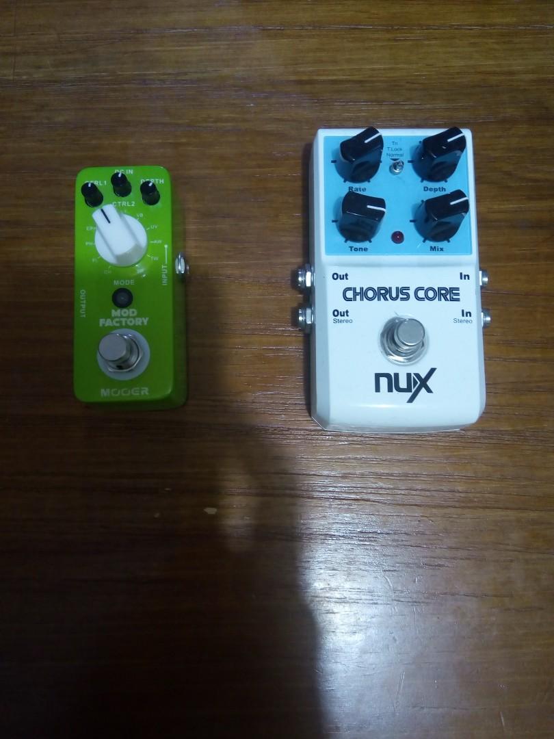 Mooer Mod Factory (Wah Pedal) Nux Chrous Core 合新手用