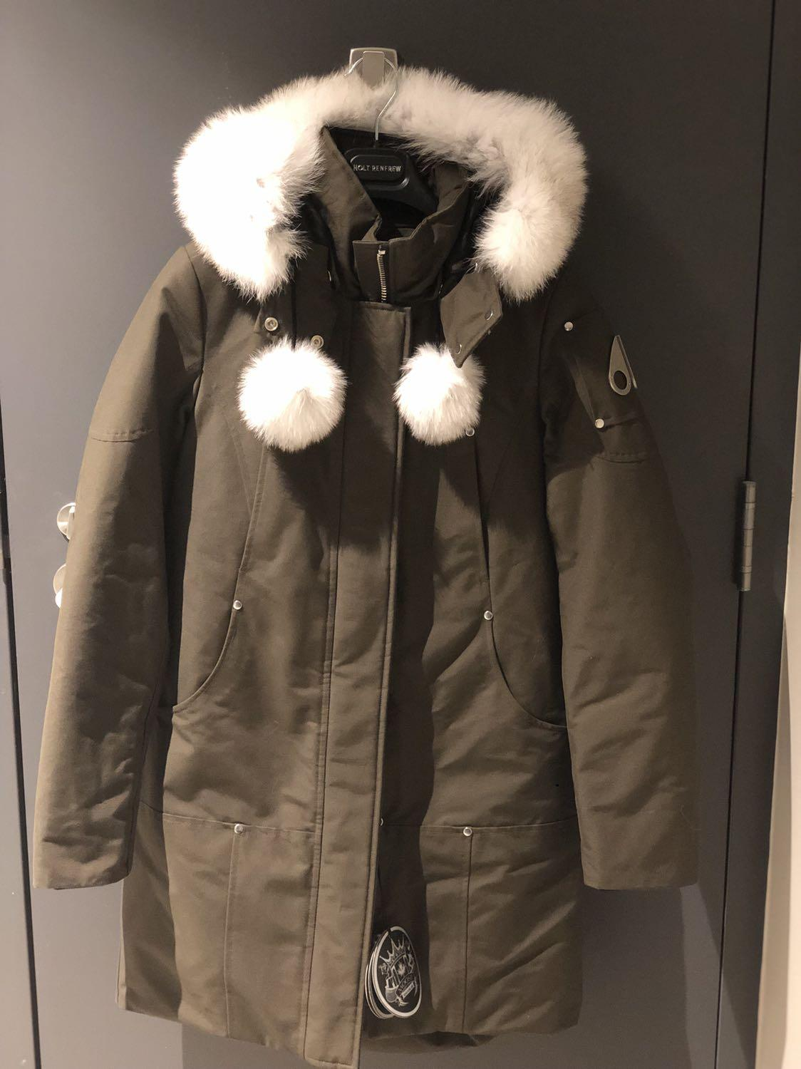 Moose knuckles Army Green Stirling Parka Women Size S