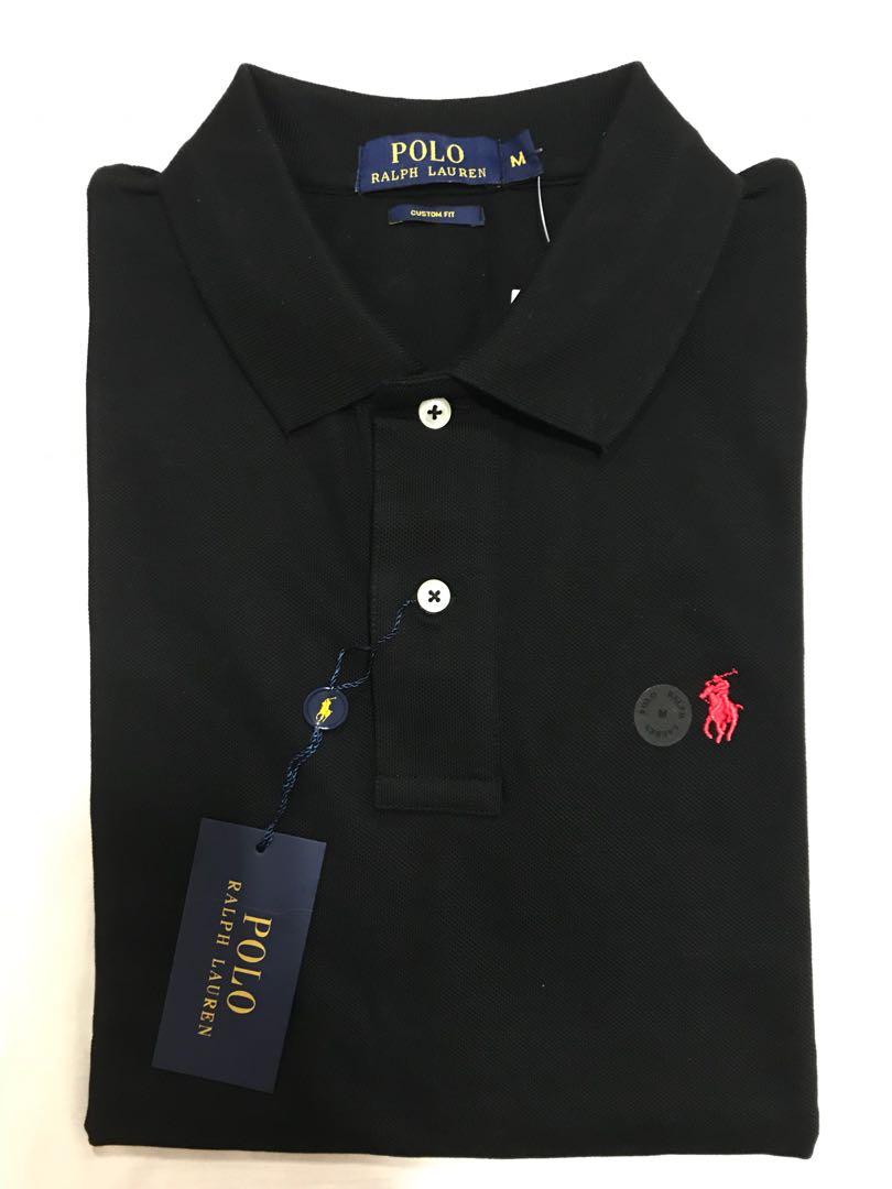 499a57e9c1c1 New Authentic Polo Ralph Lauren Shirt Black, Men's Fashion, Clothes ...