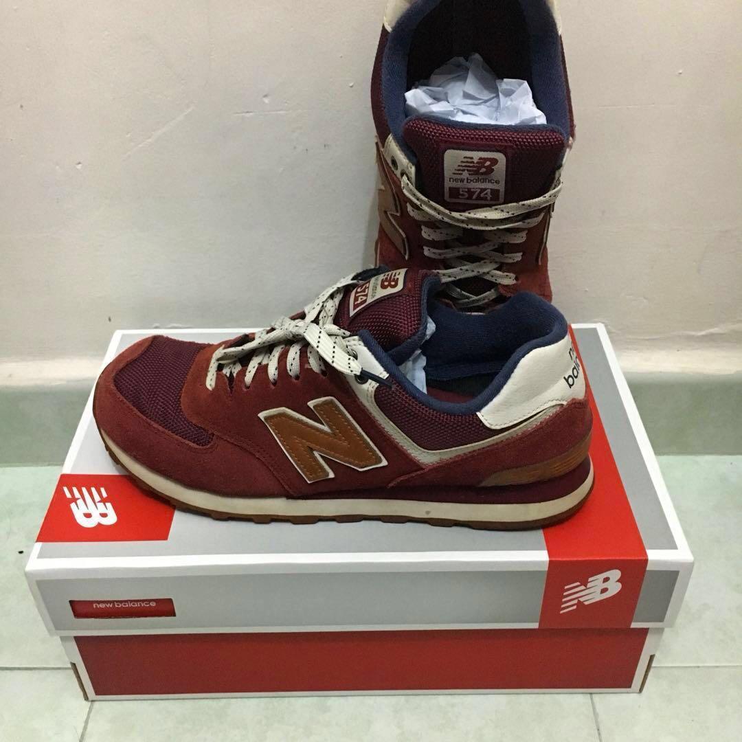 hot sale online 8bf5f 55287 New Balance 574 (Vintage), Men's Fashion, Footwear, Sneakers ...