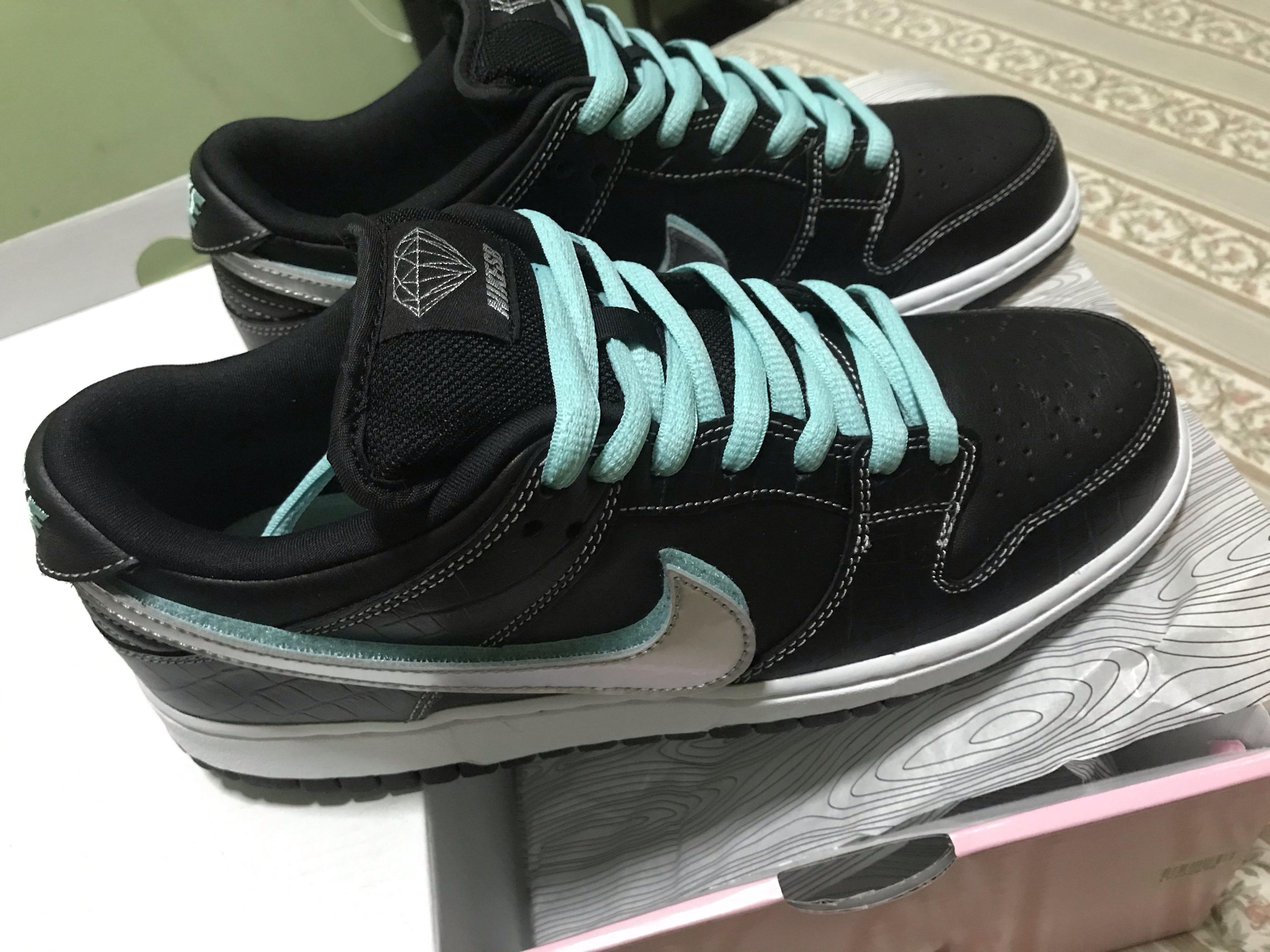 534eedaa78 Nike sb Diamond supply co, Men's Fashion, Footwear, Sneakers on ...