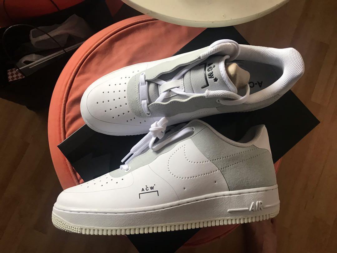 dd6ecd6dd2b6 Nike x A-Cold-Wall ACW Air Force 1 White
