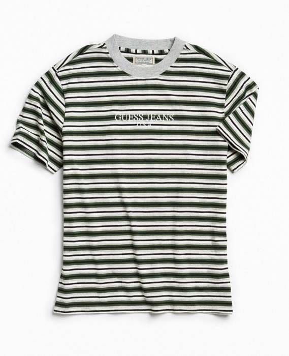 eab2e2261 PO] Guess Jeans 1981 Vintage Capsule Alameda Striped Tee, Men's ...