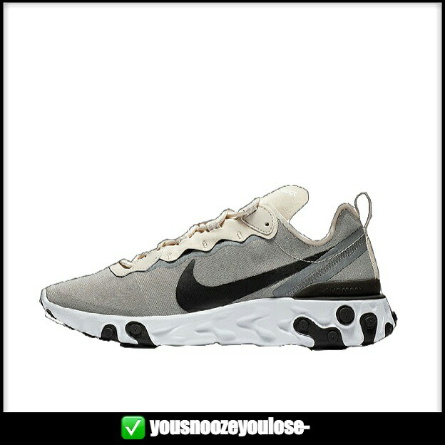 6817eb650597c PREORDER  NIKE REACT ELEMENT 55 LIGHT OREWOOD BROWN