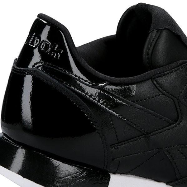 Reebok WMNS Classic Leather Matte Shine black / white