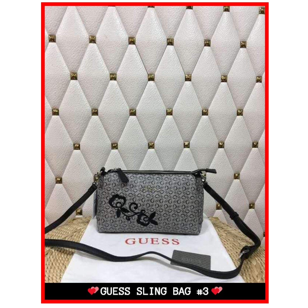 SALE❗❗❗ Guess Sling Bag Authentic 1-2 Days Shipping Only! Complete  Inclusions and Free Shipping d92ae40eeb4b2