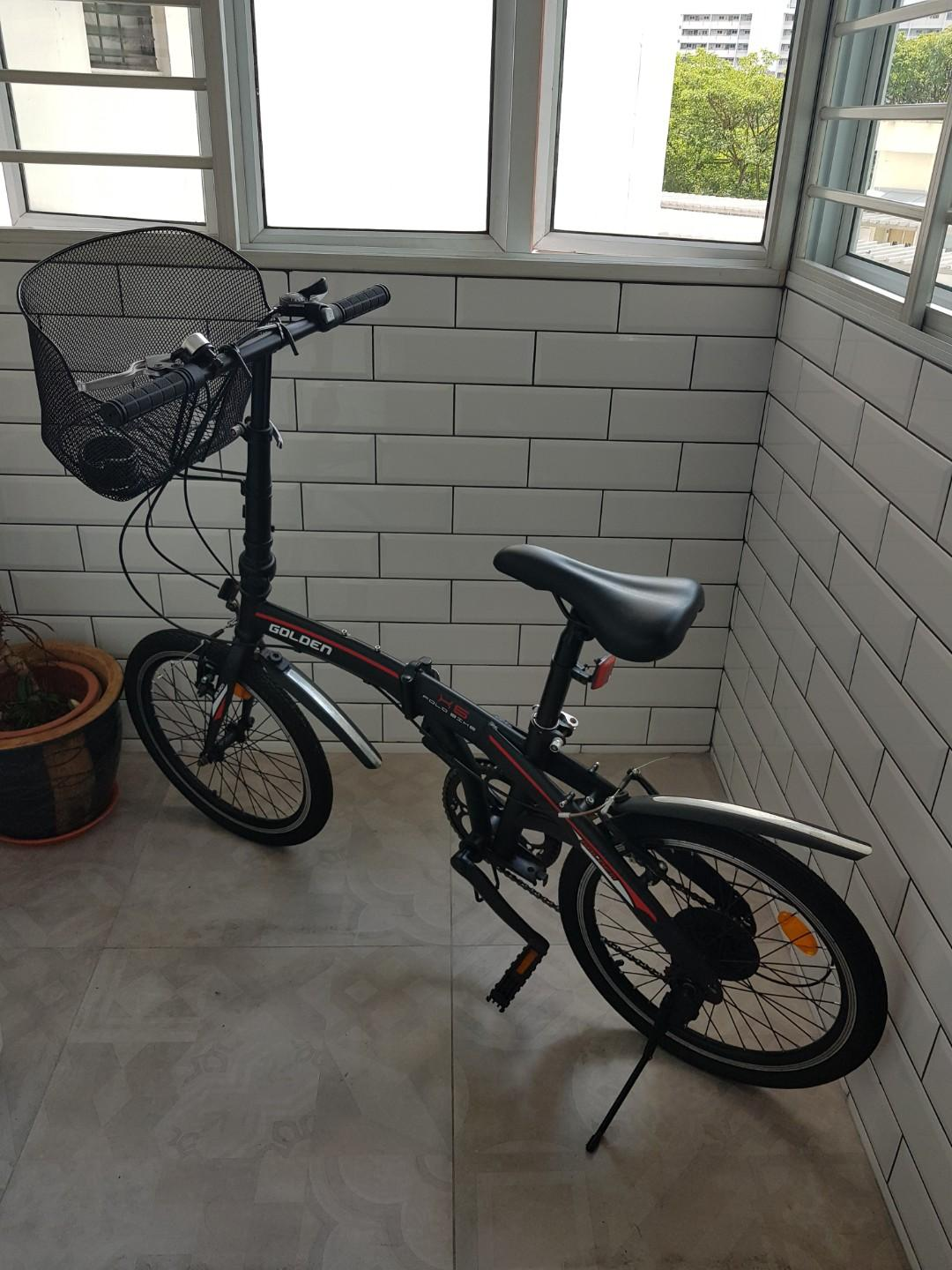 Second hand foldable bicycle for sale, Bicycles & PMDs