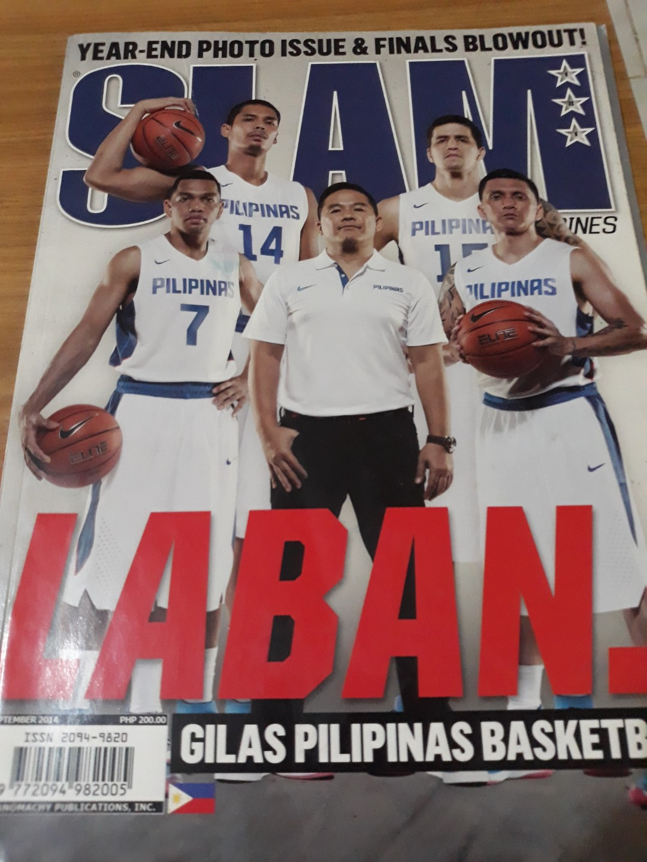 3c503899e85 SLAM Gilas Pilipinas (FIBA Asia Silver Medal) Team, Books, Magazines ...
