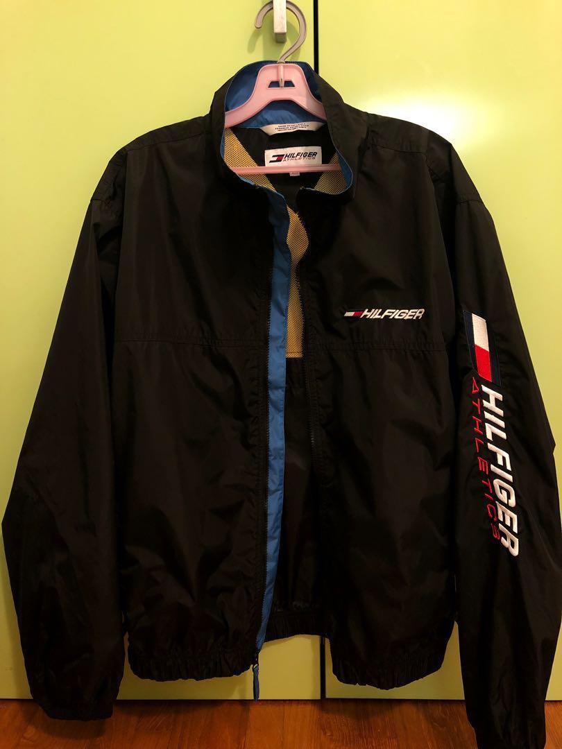 b51885fe8 Tommy Hilfiger Athletics Vintage Windbreaker, Men's Fashion, Clothes ...