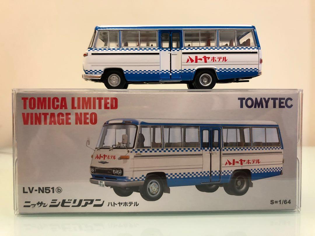 Tomytec Tomica Limited Vintage Neo LV N51b Nissan Civilian 酒店 巴士 罕見 難搵 1:64