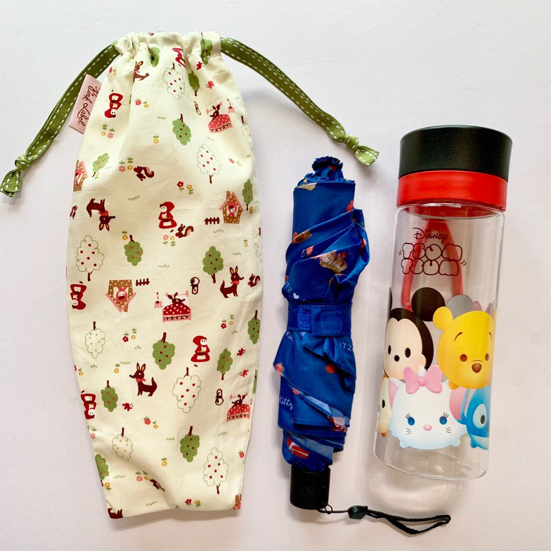 Umbrella/Bottle Wet bag , Water leak proof , washable , reusable , stylish  and Eco-friendly !