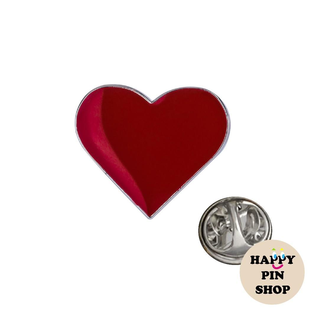 Various Heart Enamel Pins - Valentines, Love, Romantic Gift, Anniversary