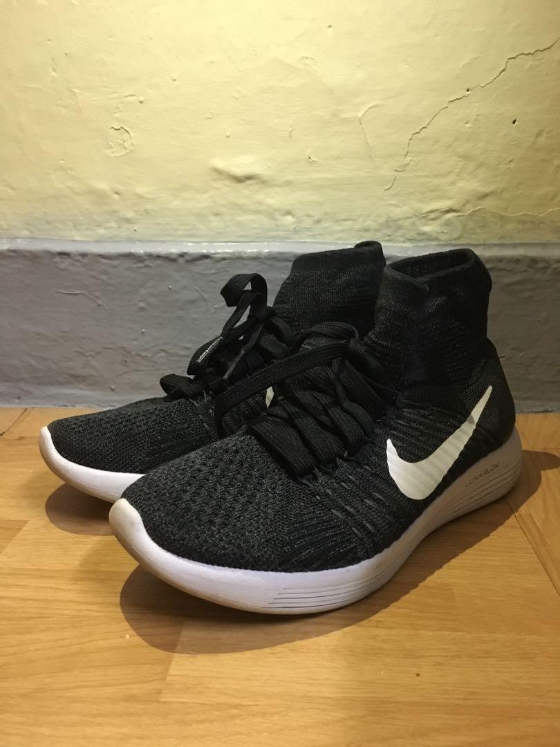 47340cc97330 Women Nike lunarepic flyknit black while