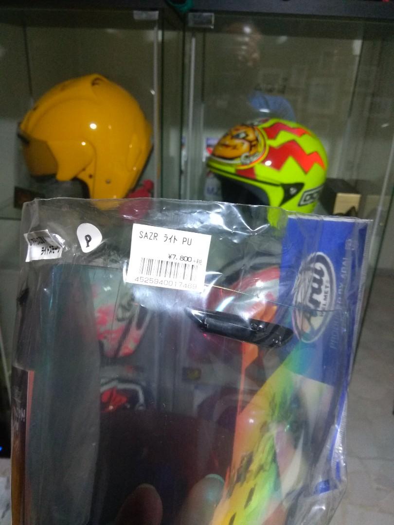 cf1e70d9 ZR LIGHT-SMOKE PURPLE Arai Visor BNIP, Motorbikes, Motorbike Apparel on  Carousell