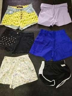 🚚 Shorts bundle