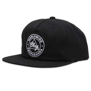 Obey Worldwide Propaganda Snapback Black