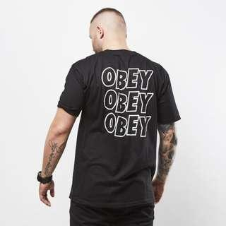 Obey Jumbo Lo Fi T Shirt Black
