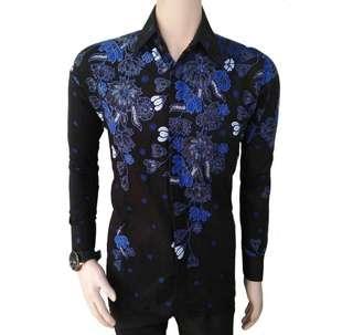 Baju batik tgn panjang&pendek