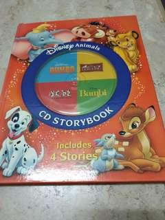 Disney Stories Dumbo, Lion King, 101 Dalmations, Bambi