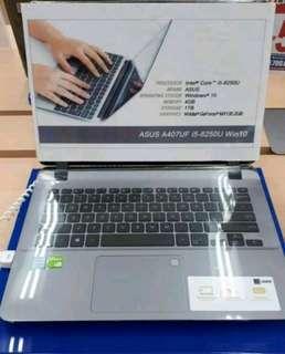 Laptop Asus A407 UF Bisa Cicilan Tanpa Kartu Kredit