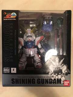 BANDAI SD Gundam Action Figure Shining Gundam 閃光高達