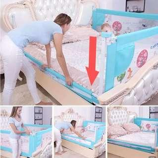 🚚 Free Delivery / Ready Stocks - Baby Bed Fence/Rail 1.5/1.8/1.9/2m
