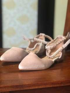 Never been used Parisian Flats (size 5)
