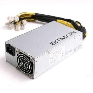 (J229) Antminer Power Supply APW3++ for S9 or L3+ or D3 w/ 10 Connectors
