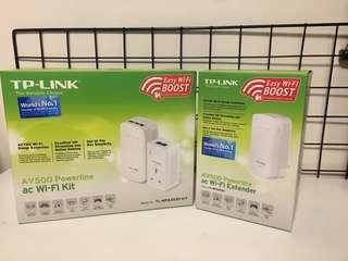 TP link AV500 powerline with extender