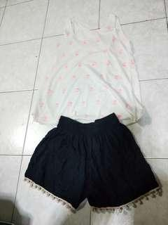 Prelove home wear singlet and shorts