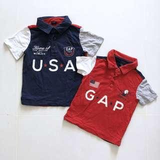 🚚 18M & 3T Gap Polo Tshirt
