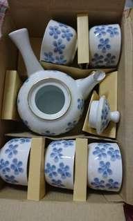 茶壺茶杯組