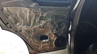 Toyota CHR Door 2 Layer Soundproofing