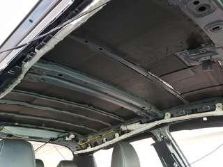 Toyota CHR Roof Soundproofing