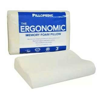 Bantal Kesehatan Leher Ergonomic Pillopedic Memory foam