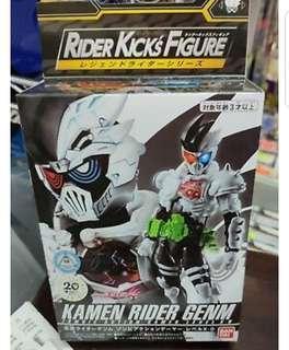 全新原裝行貨 bandai幪面超人rider kick's figure EX-Aid GENM