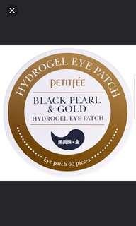 🚚 Petitfee Black Pearl & Gold Hydrogel 60 Patches