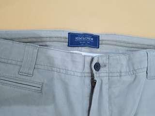 Celana panjang KENT&CREW slim fit Ori