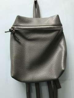 Grey Mini backpack